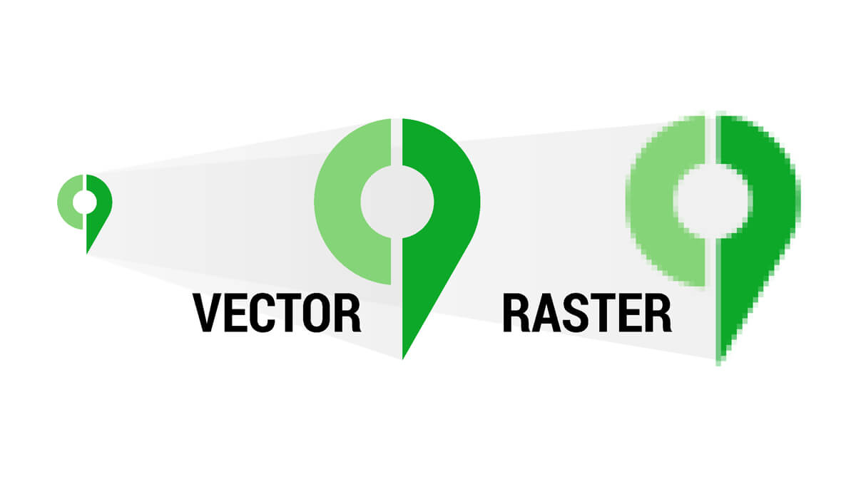 vector vs raster logo